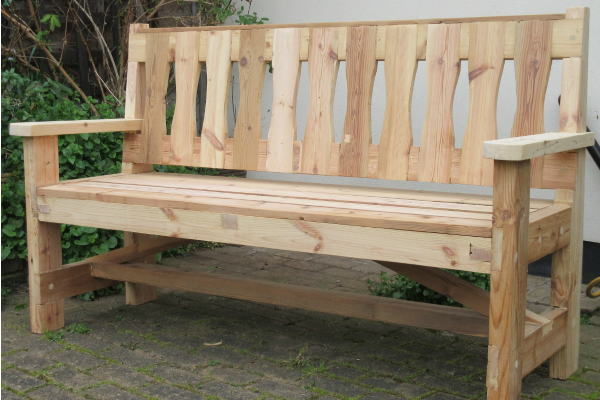 Products Garden Bench 5ft
